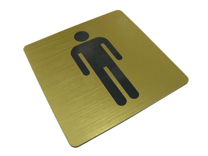 Tabliczka na drzwi WC toaleta Męska piktogram zdjęcie 1