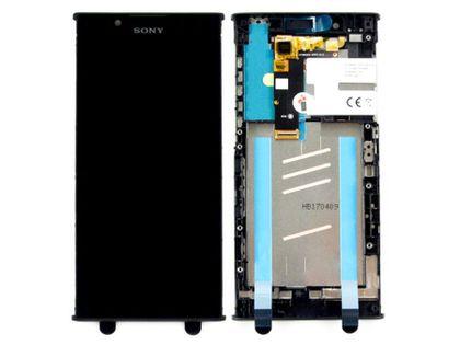 100% Oryg Nowy Przód LCD i dotyk Sony Xperia L1 czarny