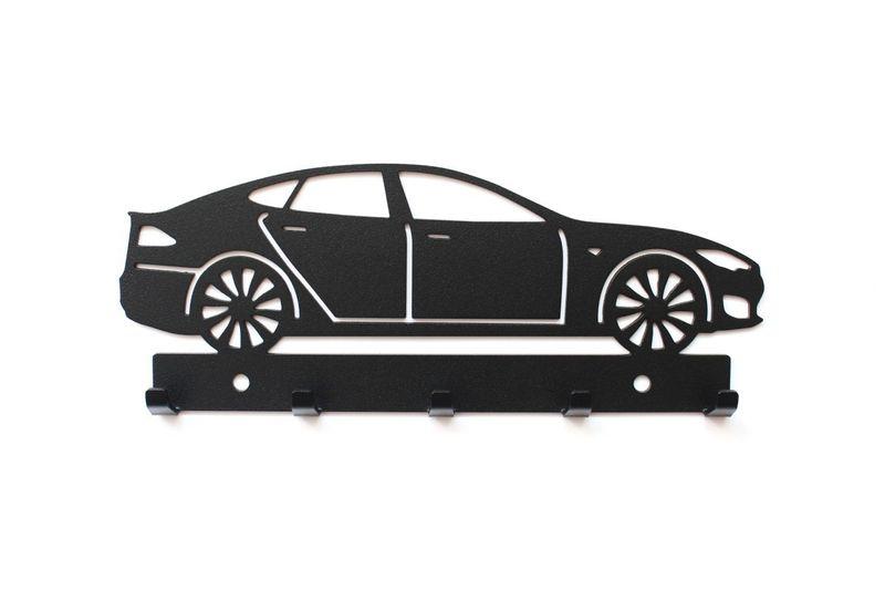 Tesla S, wieszak na klucze, dekoracja pomysł na prezent, auto, car zdjęcie 1