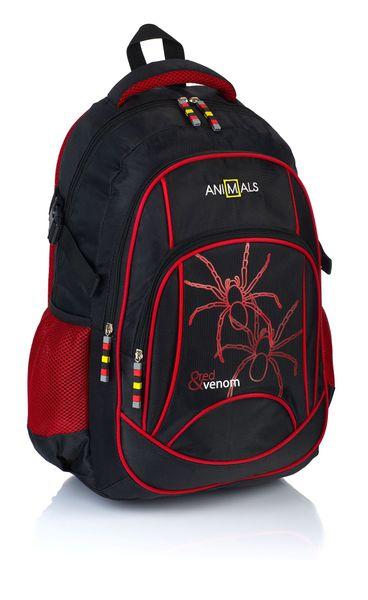 Animals Plecak szkolny młodzieżowy Red&Venom AN-28 zdjęcie 1