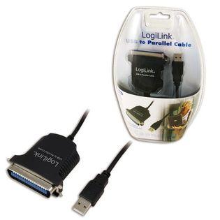 LogiLink Adapter USB na port Centronics 36-pin (IEEE1284), 1.5m