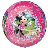 Balon foliowy Myszka Minnie Mouse KULA różowa