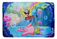 Dywan dla dzieci ultra miękki 100x150 SpongeBob Kanciastoporty