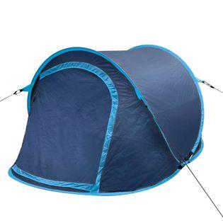 Namiot Campingowy Dla 2 Osób, Granatowy/jasny Niebieski