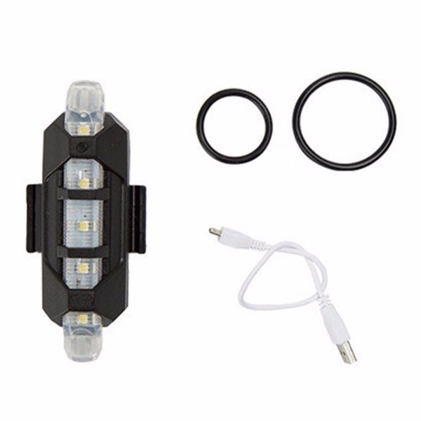 LAMPKA LED przód biała ROWER ROWEROWA ładowana USB na Arena.pl