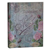 ALBUM, albumy na zdjęcia szyty 200 zdjęć 10x15 cm opis AKANT róża