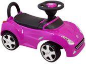 Interakywny Jeździk FERRARI BABY MIX gumowe koła fioletowy
