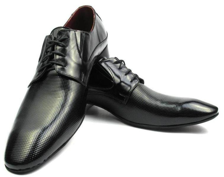 29b986841a071 Czarne buty męskie z perforacją Faber T62 Rozmiar Obuwia - 43 • Arena.pl