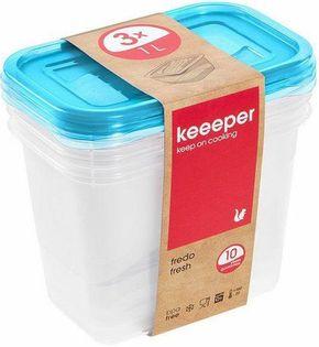 Keeeper Zestaw Pojemników Fredo Fresh 3x1l 3067..