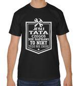 Koszulka męska na dzień ojca Jeśli tata czegoś nie naprawi