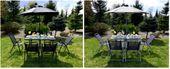 Komplet Mebli Ogrodowych 8-częściowy NEVADA BLACK zdjęcie 7