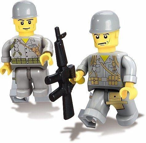 Klocki Wojsko Myarmy Jepp Armia 199 Elementów Arenapl