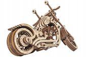 Motocykl Mechaniczne Puzzle 3D Drewniane Wooden City zdjęcie 3