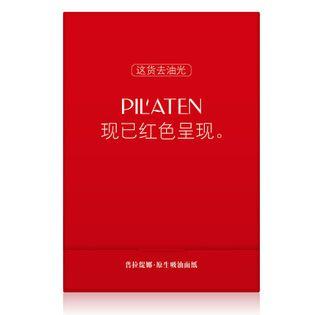 Pilaten Native Blotting Paper Control Red Chusteczki oczyszczające 100szt