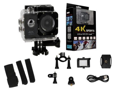 Kamera sportowa 4K Ultra HD wi-fi wodoszczelna do 30 metrów T273 na Arena.pl