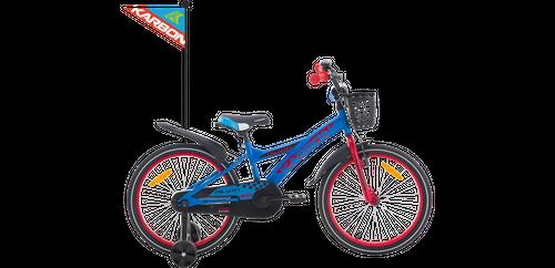 ROWER ROWEREK DZIECIĘCY BMX 20 KARBON ALVIN niebiesko-czerwony 5-8L na Arena.pl
