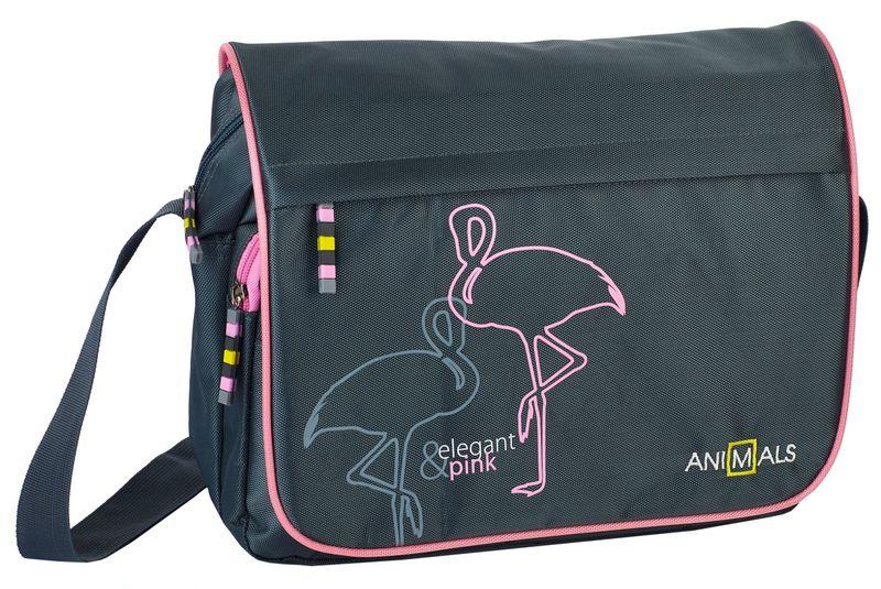 Animals Plecak szkolny młodzieżowy Elegant&Pink zestaw zdjęcie 5