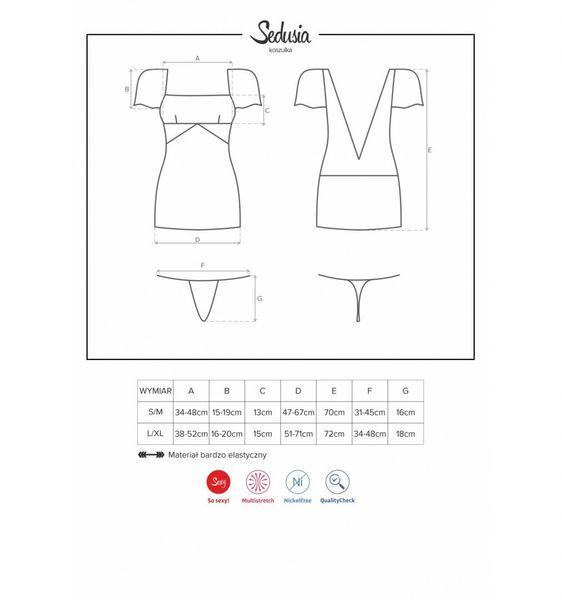 Sedusia koszulka czarna L/XL zdjęcie 7