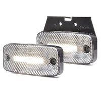 Lampa LED pozycyjna przednia wieszak 12V-24V 1136