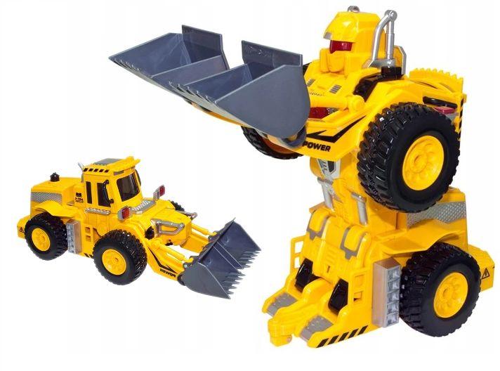 KOPARKA ROBOT TRANSFORMER TAŃCZY ŚPIEWA PO POLSKU Y79 zdjęcie 10