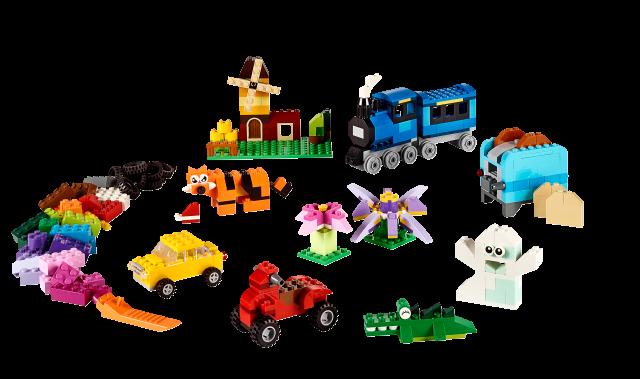 LEGO Classic - Kreatywne klocki LEGO średnie 10696 zdjęcie 2
