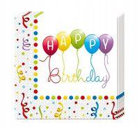 Serwetki pierwsze urodziny Roczek Urodziny Party