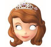 Maska papierowa Jej Wysokość Księżniczka Zosia