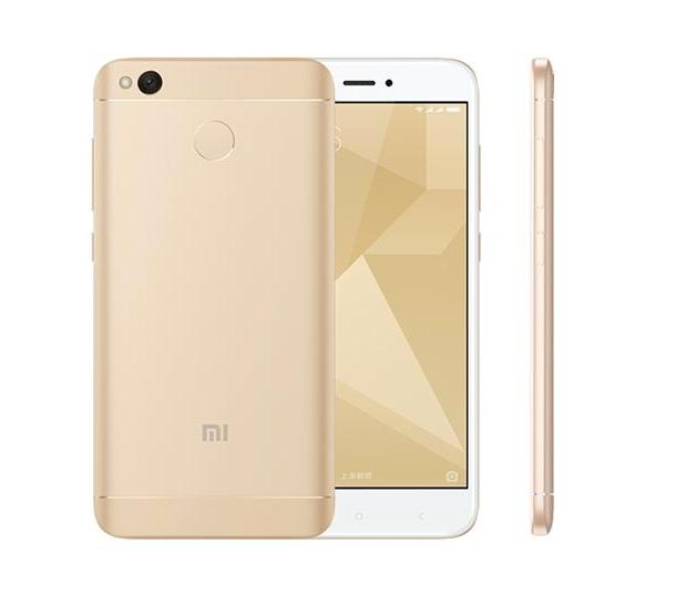 Xiaomi Redmi 4X 2/16GB Złoty z PL Snapd 435 zdjęcie 1