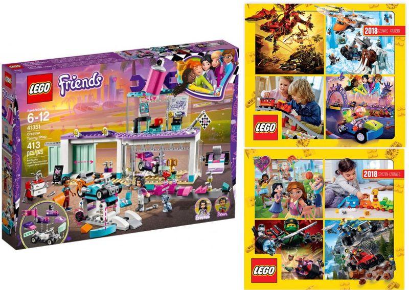 Lego Friends 41351 Kreatywny Warsztat 2 Katalogi Arenapl