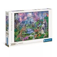 Clementoni Puzzle Monlit Wild 3000 elementów 33549