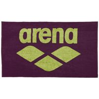 ARENA RĘCZNIK POOL SOFT TOWEL RED WINE-SHINY GREEN 150X90 CM BASEN