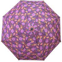 Włoska automatyczna parasolka w kolorowe kwiatki