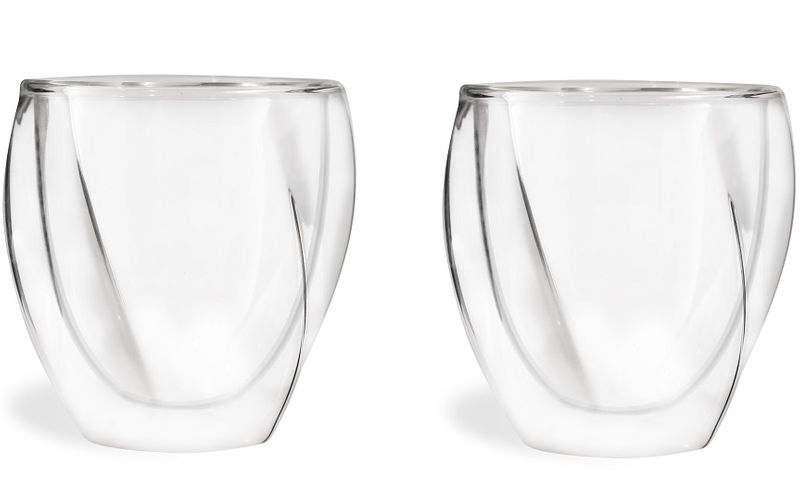 Szklanki Termiczne z Podwójną Ścianką do Kawy Latte Herbaty 250ml 6szt zdjęcie 3