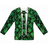 t-shirt koszulka GANJA garnitur z marihuaną roz M