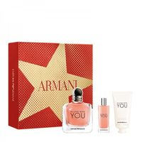 ARMANI IN LOVE WITH YOU WODA PERFUMOWANA 100ML + WODA PERFUMOWANA 15ML + Krem Do Rąk 50ML