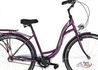 Rower miejski 28 3-biegi LAGUNA SCOMFORT Fioletowy-Mat 2019r.