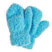 PEPCO Rękawiczki zimowe gładkie niem chłopięce brązowe
