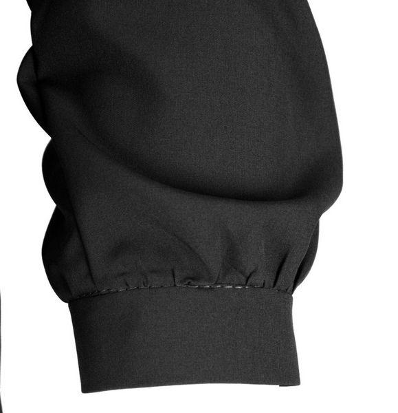 e181dec01 Bluzka koszulowa z wiązaniem i perełkami- polski producent- czarna Rozmiar  - 40 zdjęcie 4