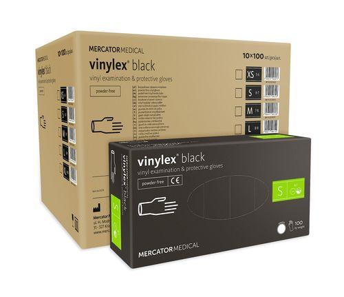 Rękawice winylowe vinylex black rozmiar S karton 10 x 100 szt na Arena.pl
