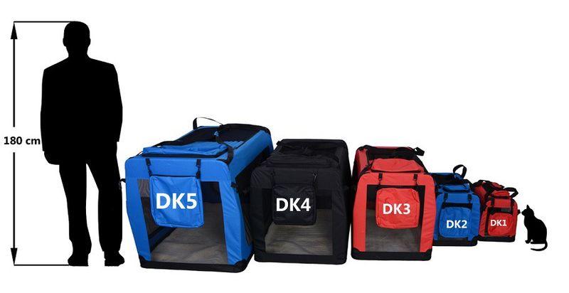 Transporter rozmiar M niebieski, model DK2-08 zdjęcie 4