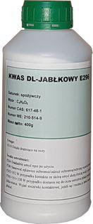 Kwas DL Jabłkowy E296 czysty 400 g