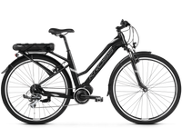 "Trans Hybrid 2.0 D (19"") czarno-srebrny mat rower elektryczny"