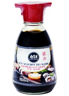 Sos sojowy do sushi Premium, dyspenser 150ml - Asia Kitchen