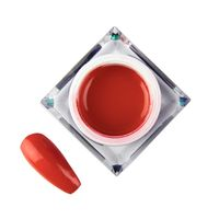 Żel do zdobień Molly Lac Artistic Gel Red nr5, 5ml