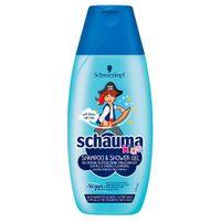 Schauma Kids Shower Gel And Shampoo Szampon I Żel Pod Prysznic Do Włosów I Skóry Dzieci 250Ml