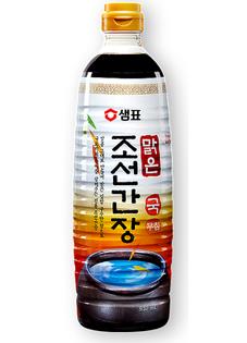 Sos sojowy bezglutenowy Premium Chosun Ganjang, naturalnie warzony 500ml - Sempio