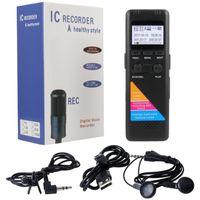 Profesjonalny Dyktafon Cyfrowy 8GB Menu PL VOX S154