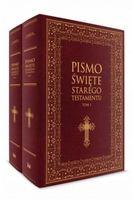 Stary testament duże litery pismo święte biblia 2t