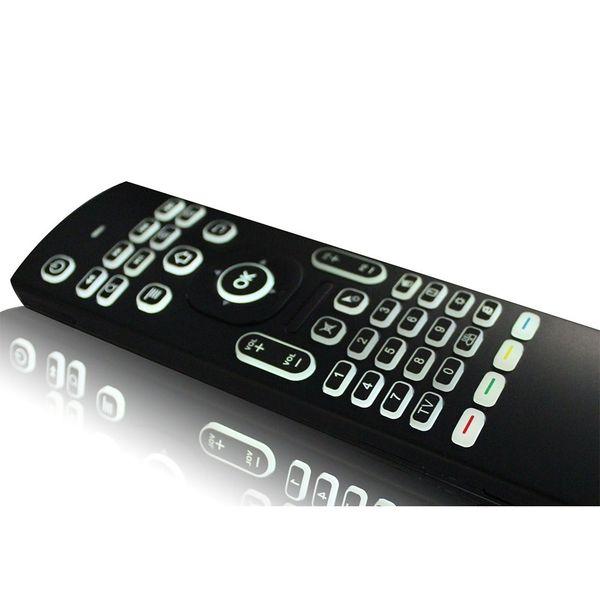 Pilot mx3 mysz powietrzna z podświetleniem do smart tv z mikrofonem 4w1 zdjęcie 9