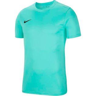 Koszulka dla dzieci Nike Dry Park VII JSY SS turkusowa BV6741 354